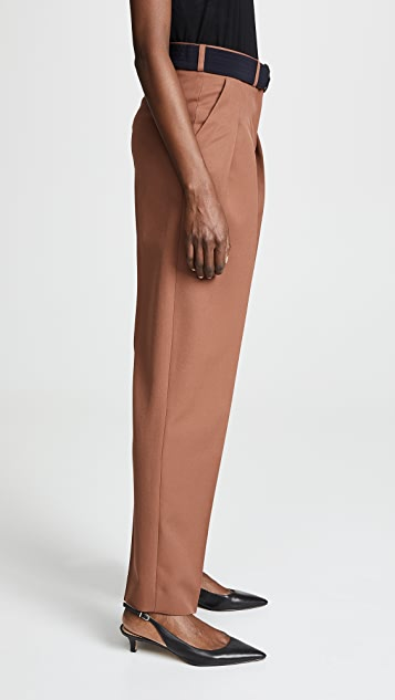 Victoria Victoria Beckham 正面褶皱裤子