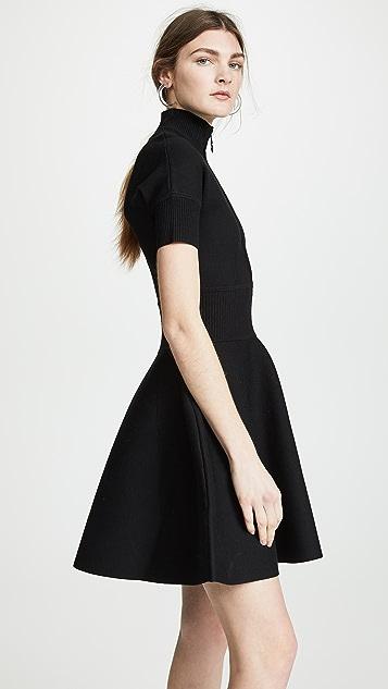 Victoria Victoria Beckham Rib Trim Dress