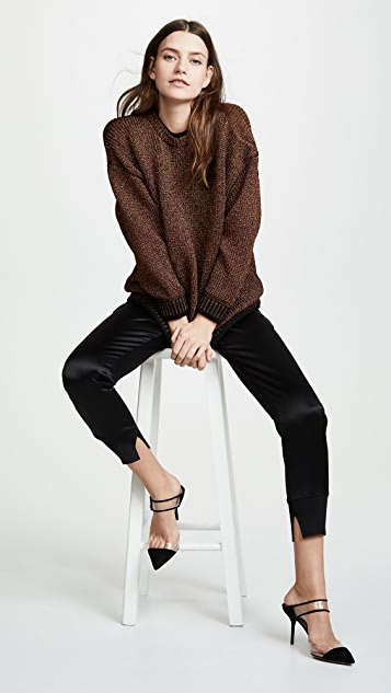 Victoria Victoria Beckham Drop Sleeve Sweater