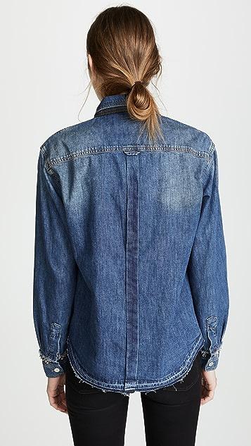 Victoria Victoria Beckham Рубашка в рабочем стиле