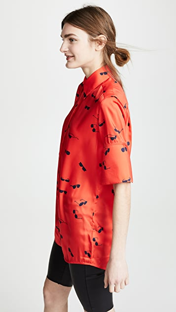 Victoria Victoria Beckham Short Sleeve Shirt