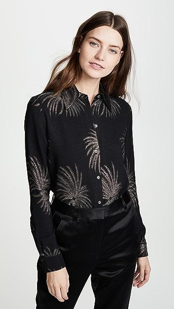 Victoria Victoria Beckham Облегающая рубашка