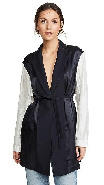 Victoria Victoria Beckham Paneled Jacket