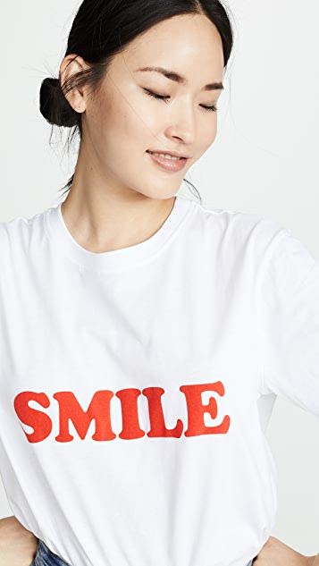 Victoria Victoria Beckham Smile T-shirt