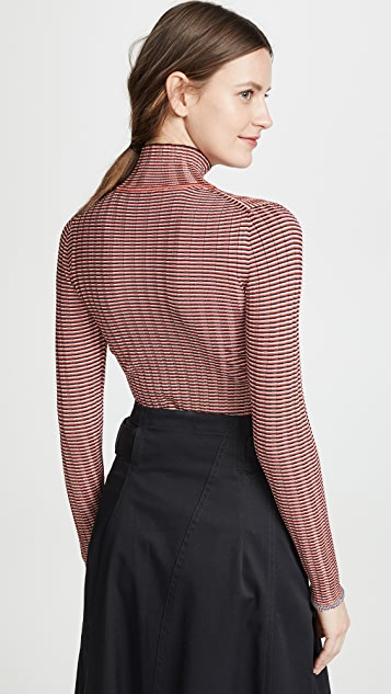 Victoria Victoria Beckham Slim Fit Turtleneck