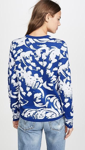 Victoria Victoria Beckham Свободный свитер с округлым вырезом