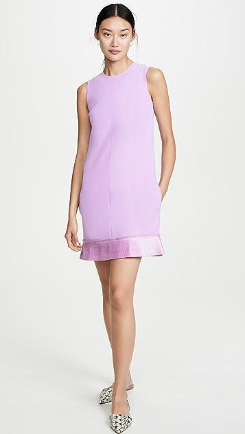 Victoria Victoria Beckham Pleated Shift Dress