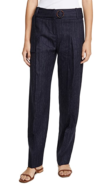 Victoria Victoria Beckham Side Tie Trousers