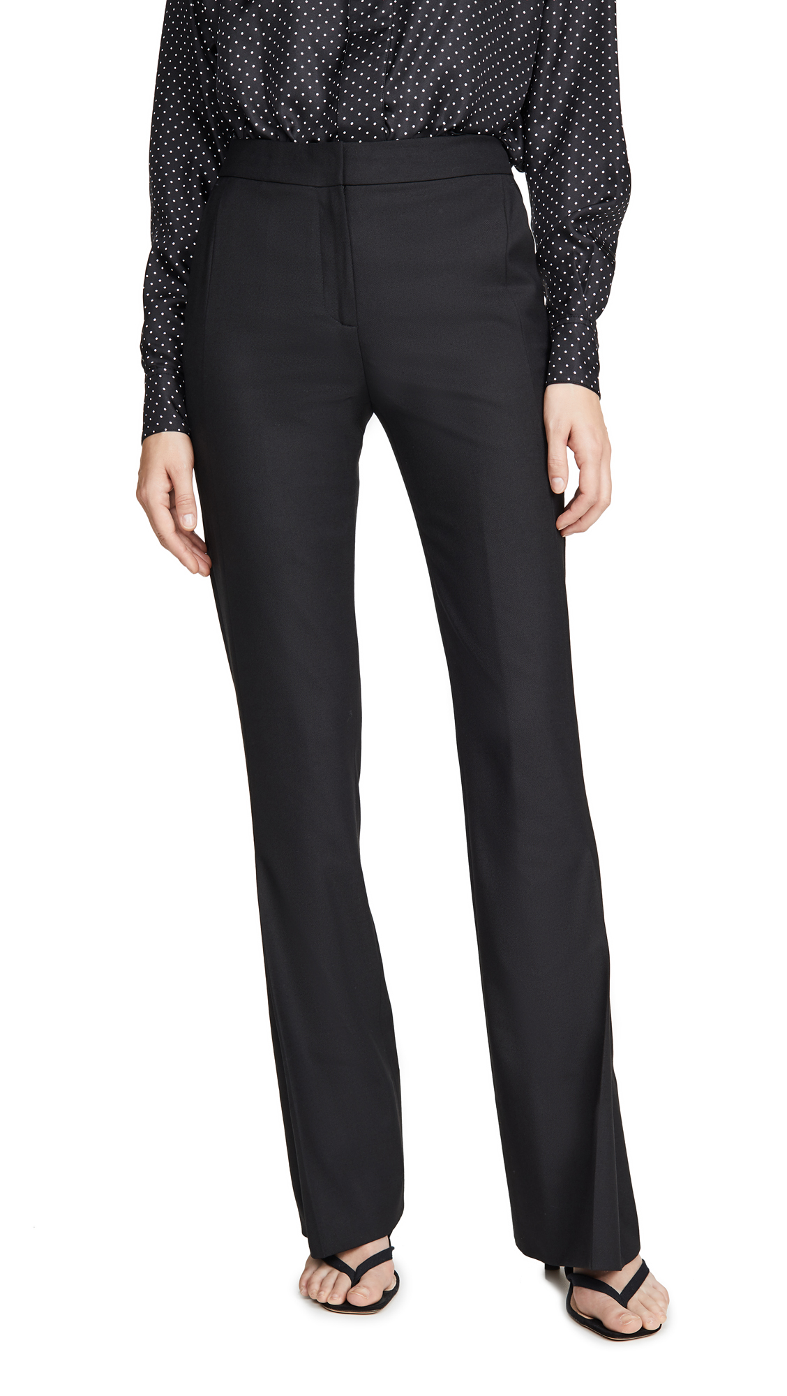 Victoria Victoria Beckham Pleat Leg Trousers