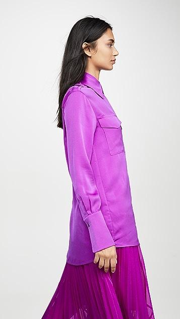 Victoria Victoria Beckham 肩章衬衫