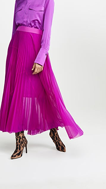 Victoria Victoria Beckham Pleated Skirt