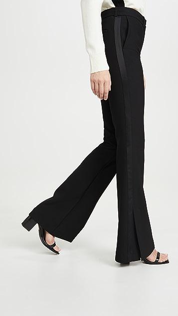 Victoria Victoria Beckham 开衩下摆礼服式 Victoria 长裤