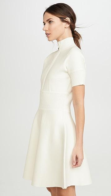 Victoria Victoria Beckham EXL High Neck Mini Dress