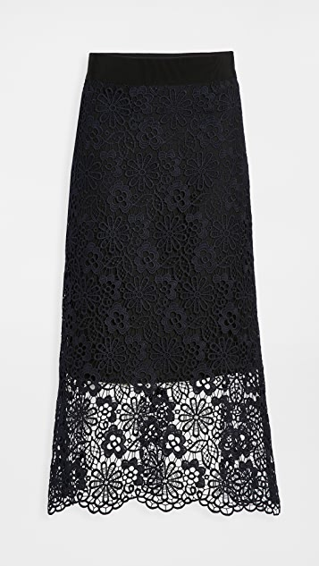 Victoria Victoria Beckham Midi Skirt