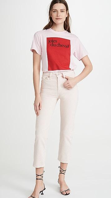 Victoria Victoria Beckham Joies Du Cheval T-Shirt