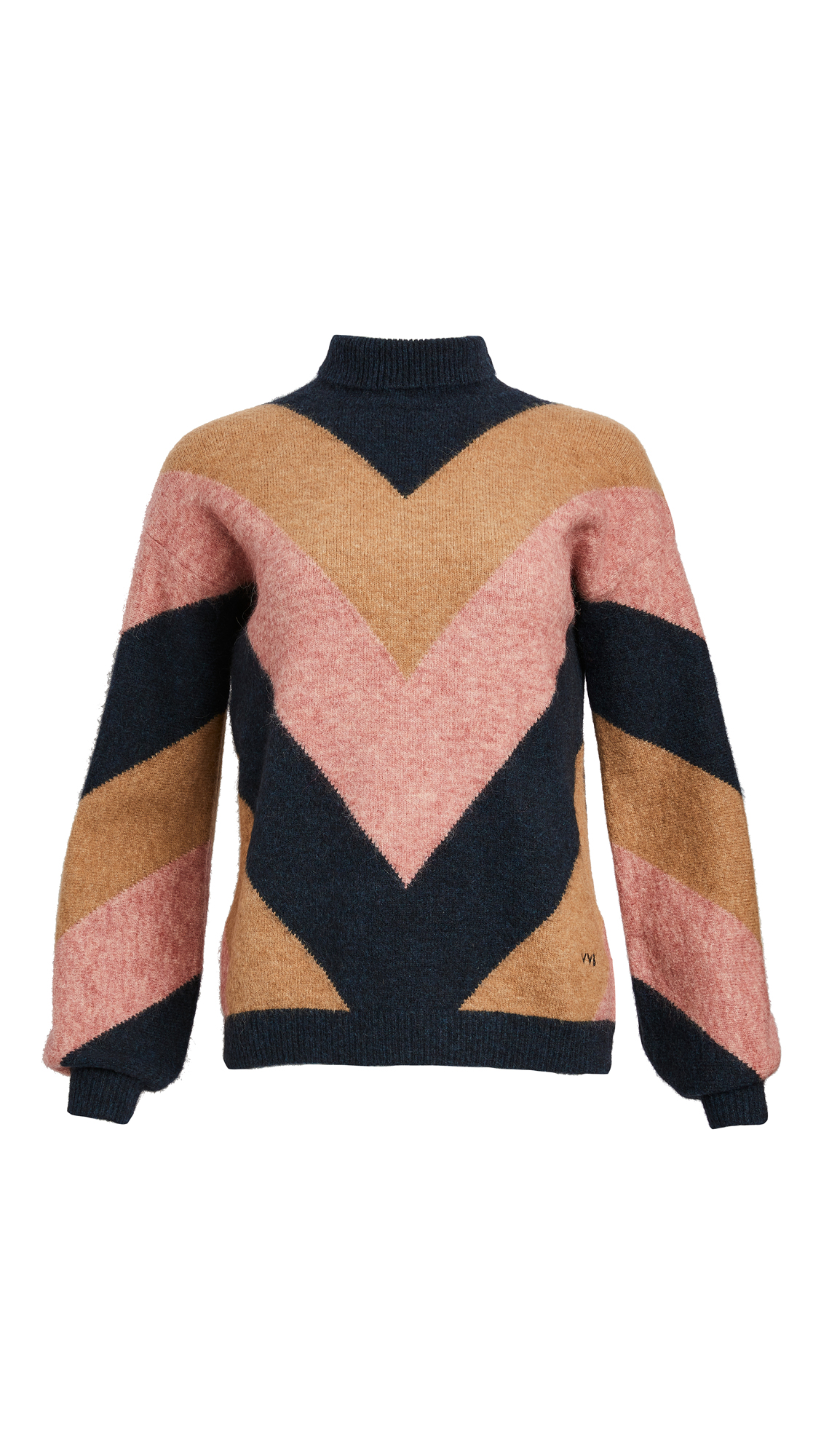 Victoria Victoria Beckham Oversized Mock Neck Sweater