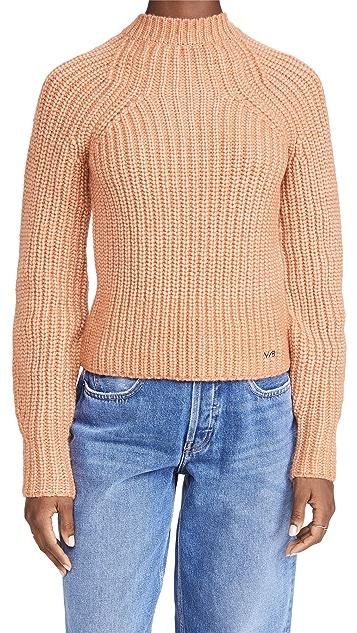 Victoria Victoria Beckham Bell Sleeve Sweater