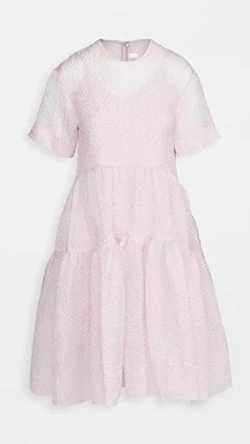 Victoria Victoria Beckham Exagerated Cocoon Dress