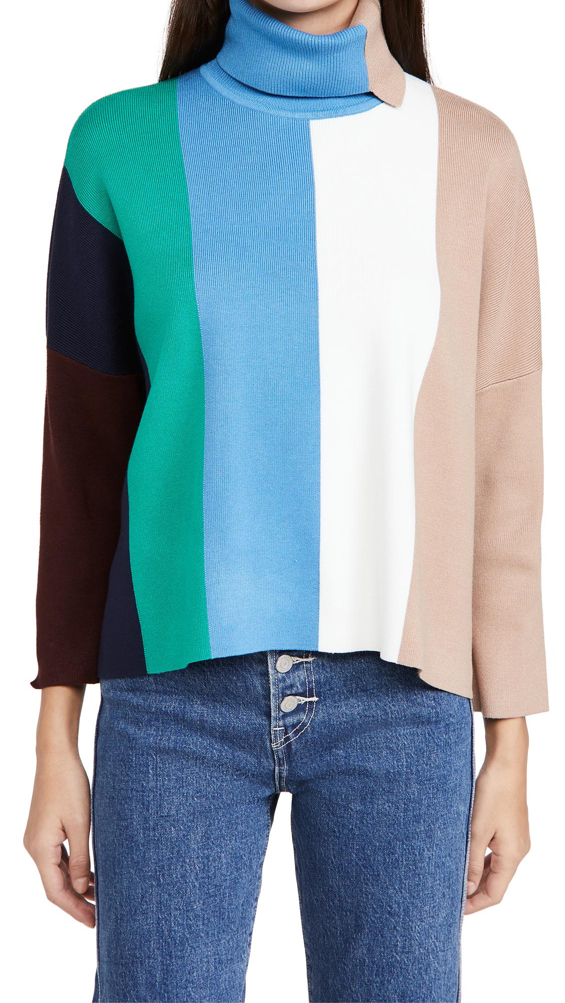Victoria Victoria Beckham Block Stripe Sweater