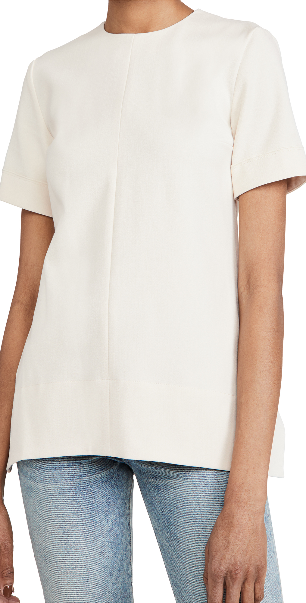 Victoria Victoria Beckham Short Sleeve Lightweight Stretch Top