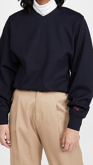 Victoria Victoria Beckham 双罗纹针织运动衫