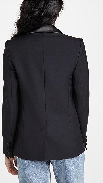 Victoria Victoria Beckham 修身版型羊毛马海毛礼服式夹克