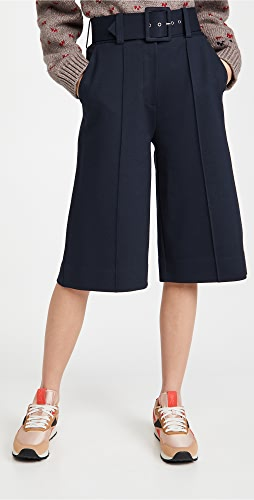 Victoria Victoria Beckham - Ponti 系腰带针织裤裙