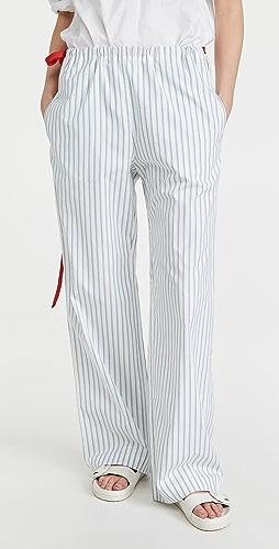 Victoria Victoria Beckham - Melange Stripe Pyjama Trousers
