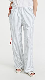 Victoria Victoria Beckham Melange Stripe Pyjama Trousers