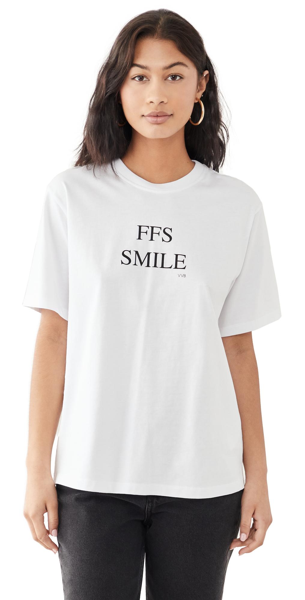 Victoria Victoria Beckham T-shirts FFS SMILE T-SHIRT