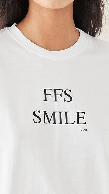 Victoria Victoria Beckham FFS Smile T 恤