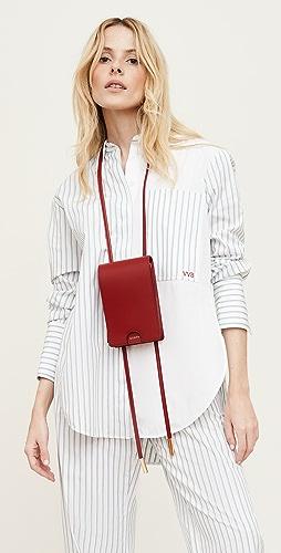 Victoria Victoria Beckham - Melange Stripe Patchwork Shirt