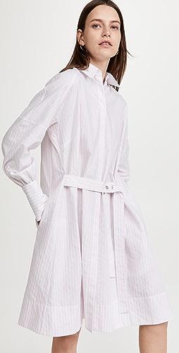 Victoria Victoria Beckham - Tie Detail Shirt Dress