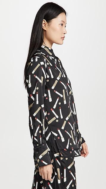 Victoria Victoria Beckham Piping Detail Shirt