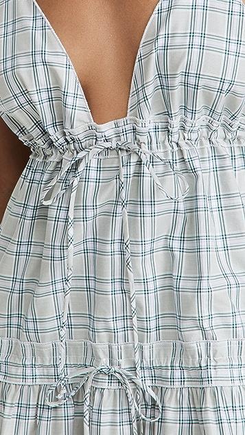 Victoria Victoria Beckham Tie Detail Dress