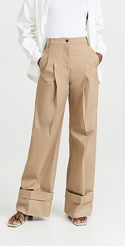 Victoria Victoria Beckham - Flared Chino Trousers