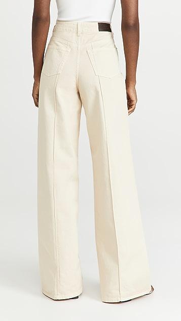 Victoria Victoria Beckham High Waist Wide Leg Jeans