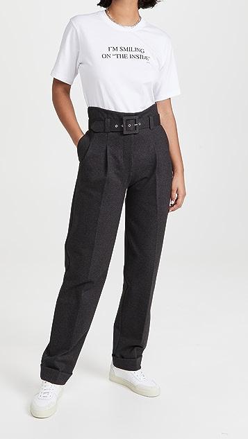 Victoria Victoria Beckham Pleat Trousers