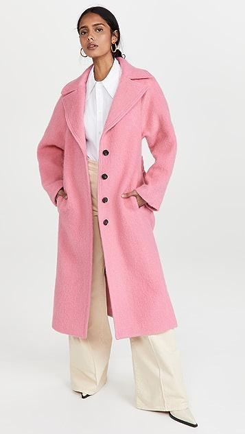 Victoria Victoria Beckham 起绒羊毛大衣