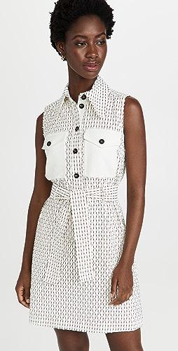 Victoria Victoria Beckham - Sleeveless Mini Shirt Dress