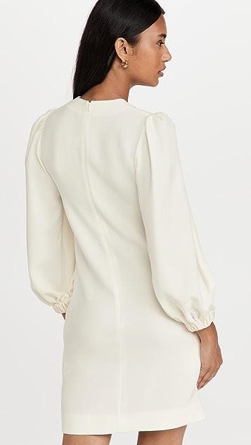 Victoria Victoria Beckham Blouson Sleeve Shift Dress
