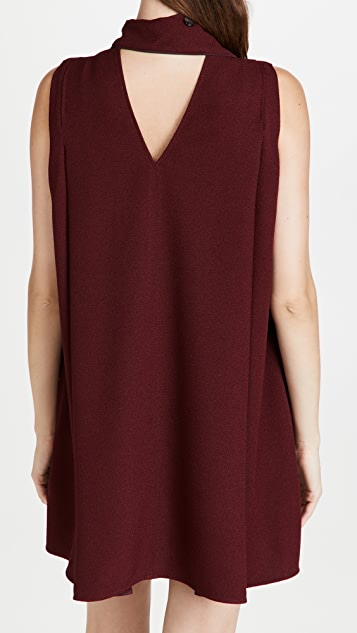 Victoria Victoria Beckham Sleeveless Mini Shift Dress