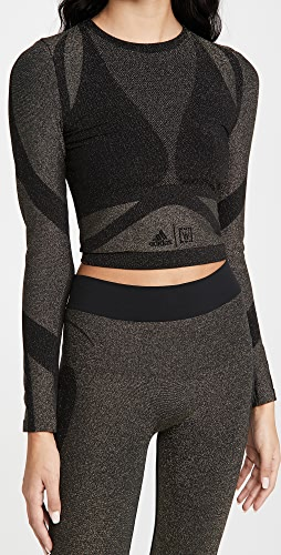 Wolford x adidas - Long Sleeves Metallic Tee