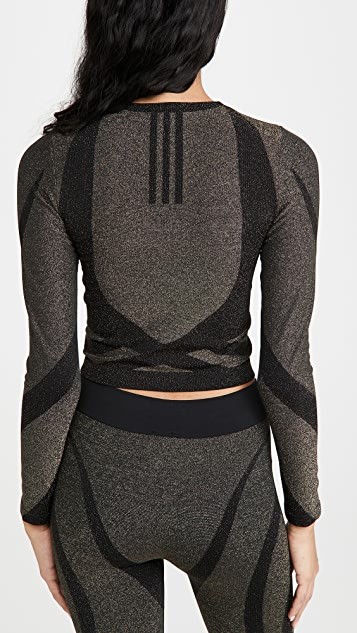 Wolford x adidas 金属元素长袖 T 恤