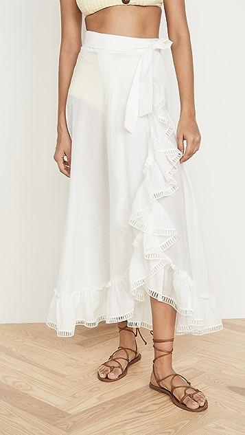Waimari Isla Mujeres Wrap Skirt