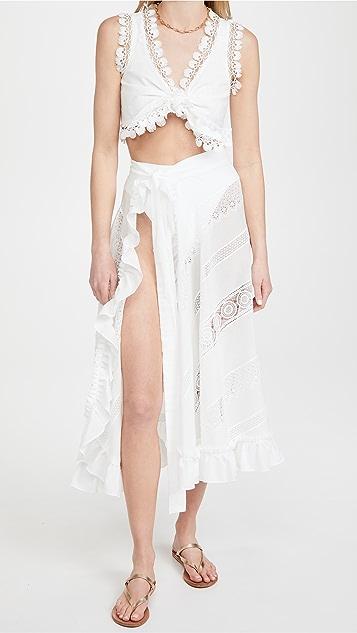 Waimari Cocos Top White