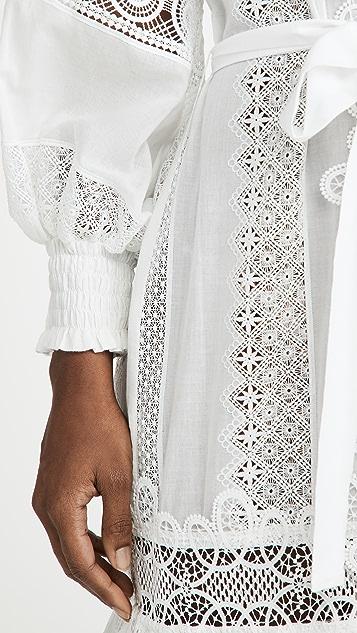 Waimari Chia Kimono White