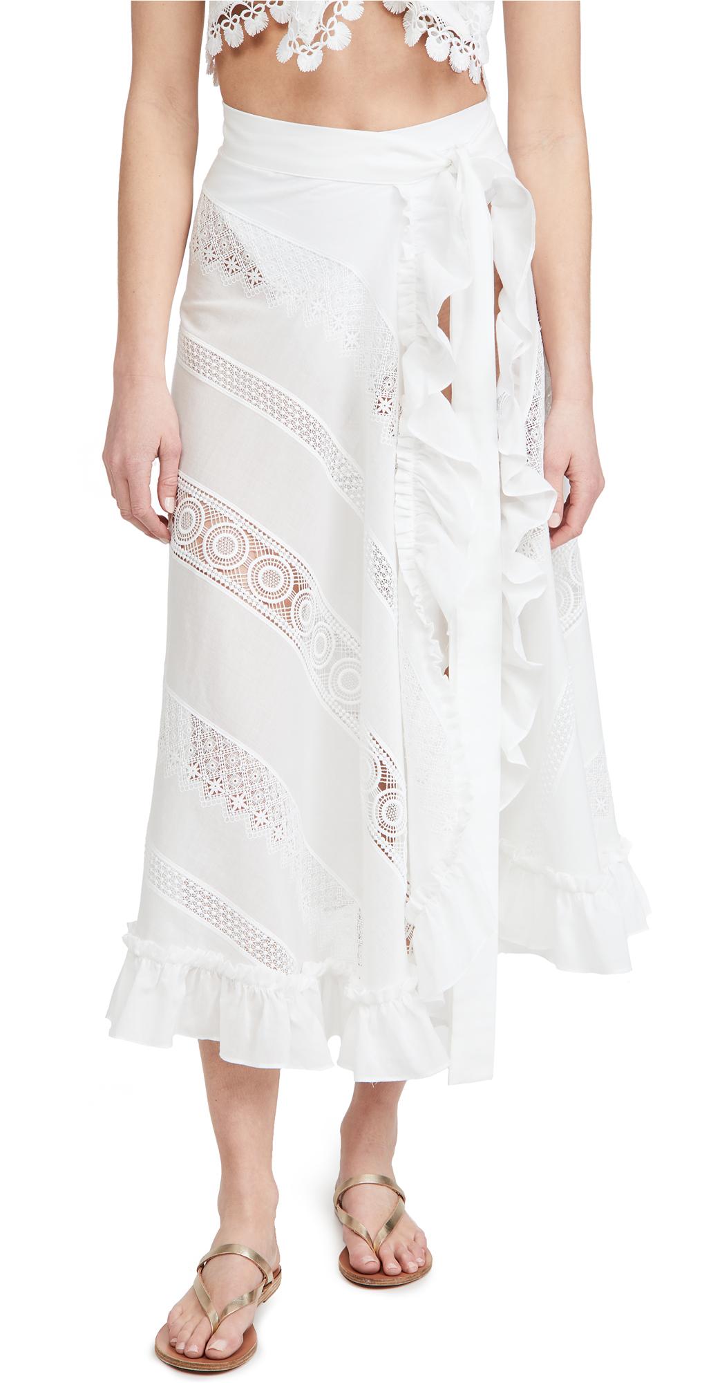 Waimari Sevillana Wrap Skirt