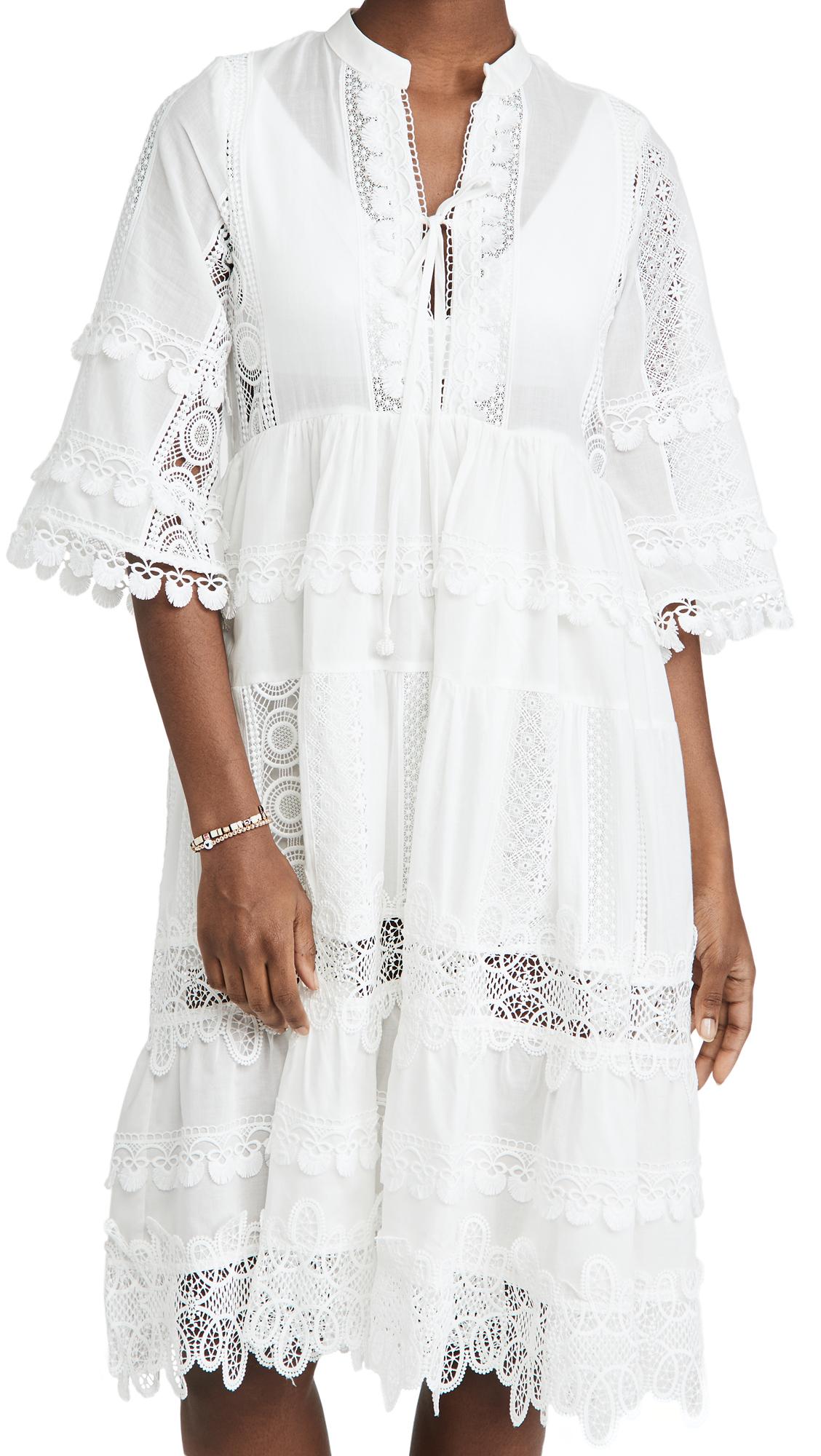 Waimari Liberte Tunic White