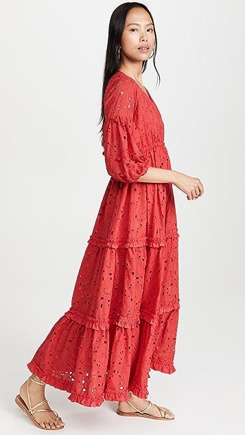 Waimari Rosario Ruby 连衣裙